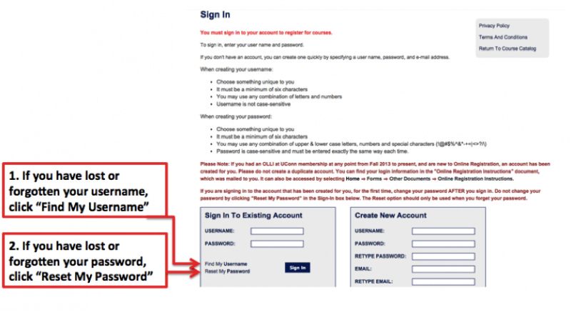 Recover Password - Step 2A